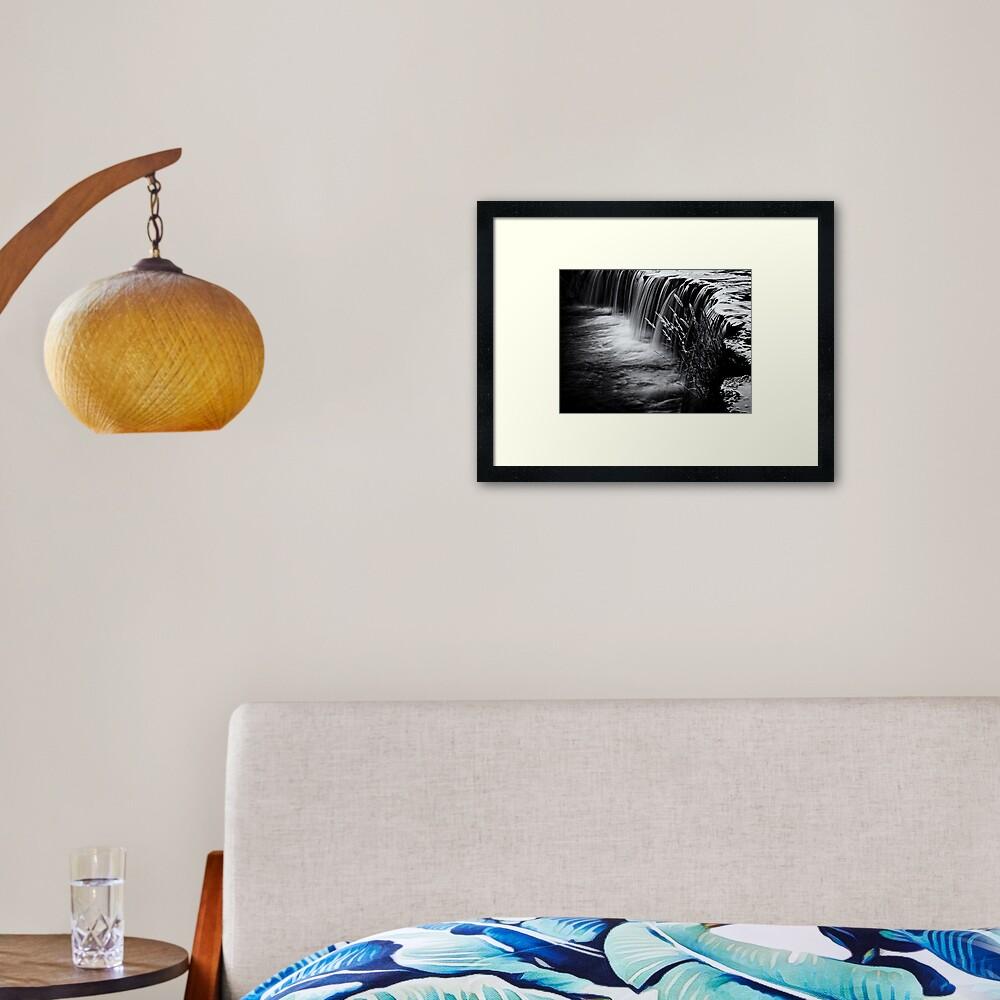 Waterfall 6 Framed Art Print