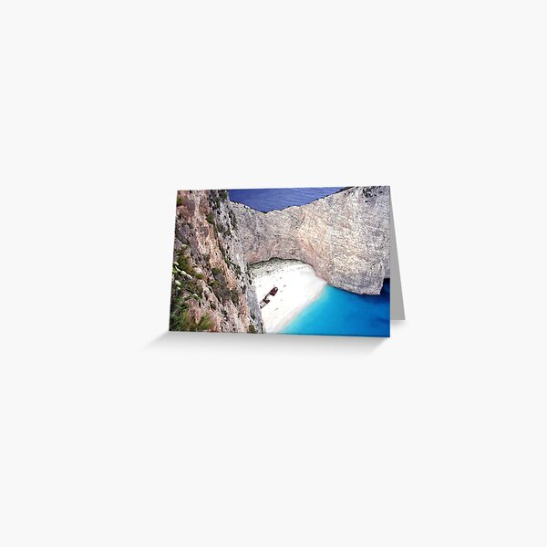 Zakynthos, Greece Greeting Card
