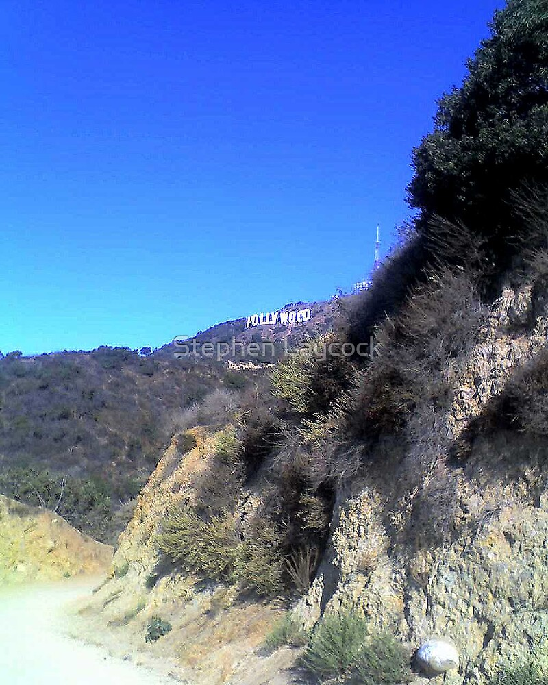 Hollywood Sign by Stephen Laycock
