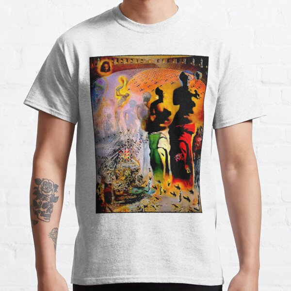 VENUS DE MILO : Vintage Dali Abstract Surreal Print Classic T-Shirt