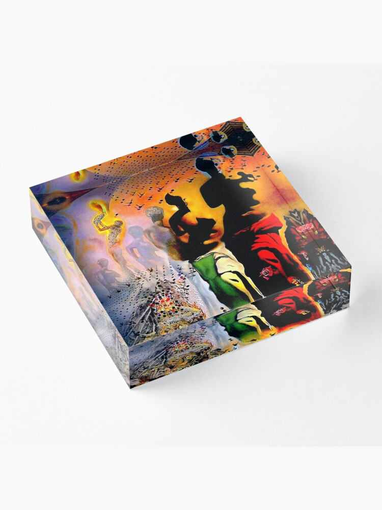 Alternate view of VENUS DE MILO : Vintage Dali Abstract Surreal Print Acrylic Block