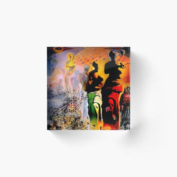 VENUS DE MILO : Vintage Dali Abstract Surreal Print Acrylic Block