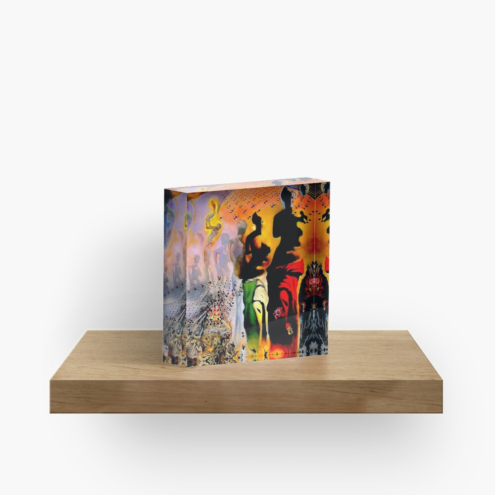 VENUS DE MILO : Vintage Dali Abstract Surreal Print Acrylic Block