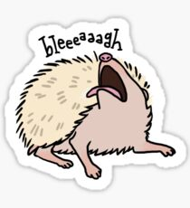 Hedgehog Anointing Sticker