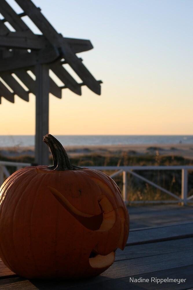 Halloween on Bald Head Island by Nadine Rippelmeyer