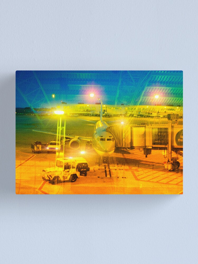 Alternate view of plane Canvas Print