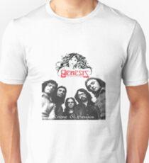 Camiseta unisex phil collins Génesis 2