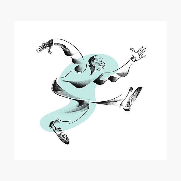 Lindy Hop Dancer, Frankie Manning Photographic Print