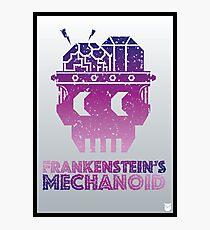 Frankenstein's Mechanoid - 80s Grunge Photographic Print