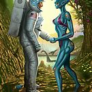 Alien Contact by George Patsouras
