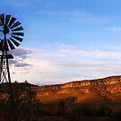 Flinders Ranges Sunset by John Wallace