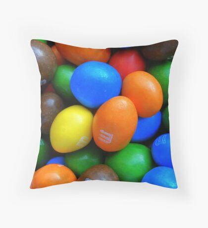Mmm! Throw Pillow
