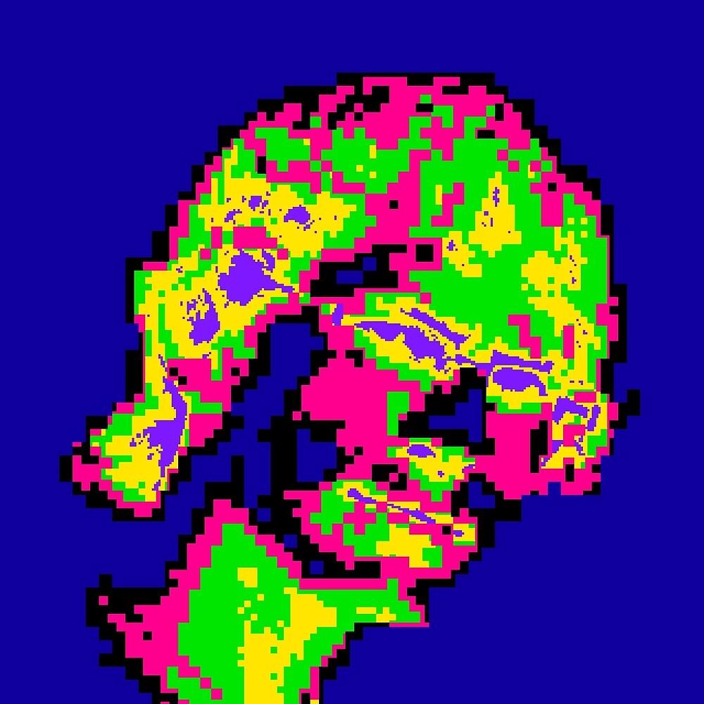 Bovine Pixels by Nathaniel Gillette