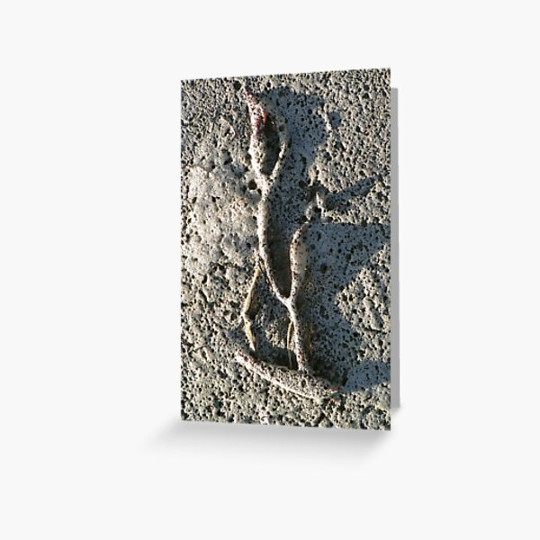 Foam Dancer Greeting Card