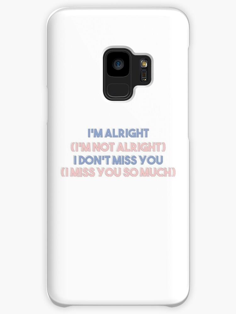 'SEVENTEEN - Don't Wanna Cry Lyrics' Case/Skin for Samsung Galaxy by  mangomilk