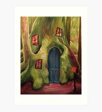 Mystical Forest Art Print
