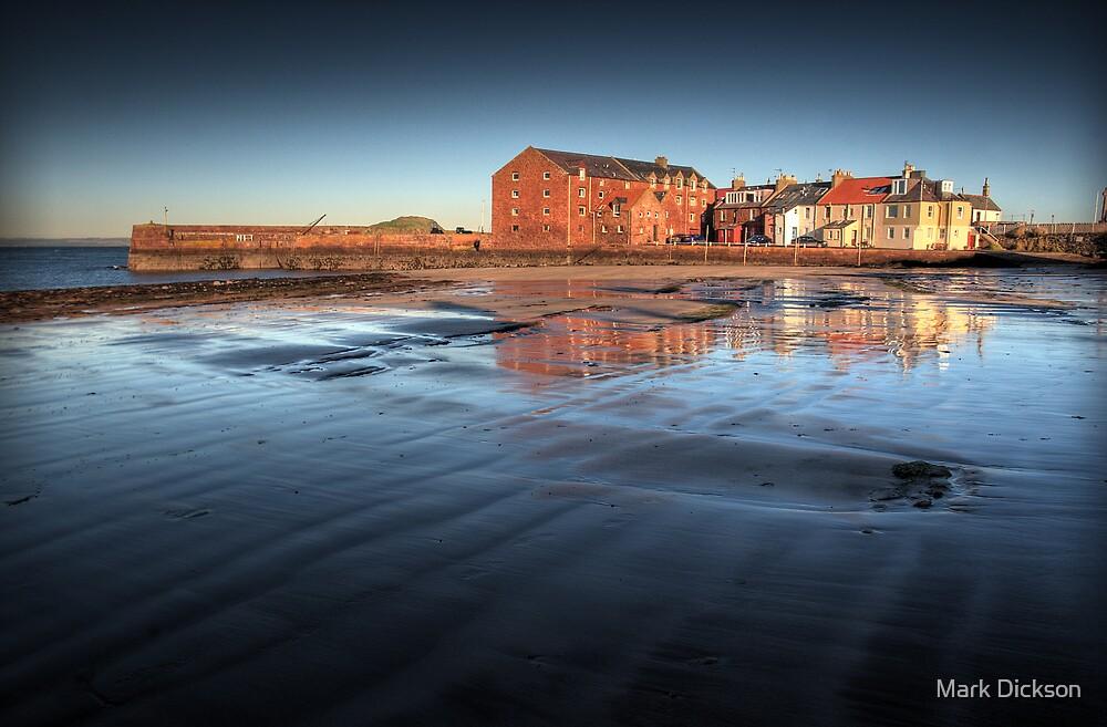 North Berwick harbour by Mark Dickson