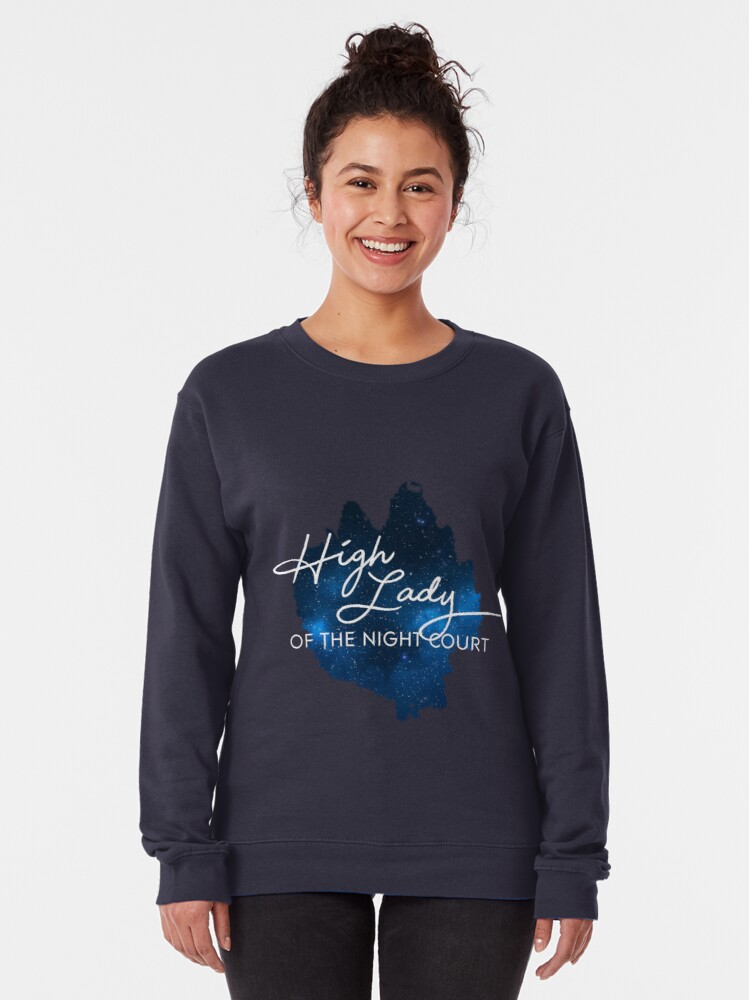 Alternate view of High Lady of the Night Court Pullover Sweatshirt