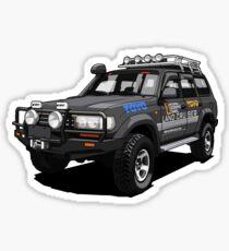Toyota Land Cruiser SUV Sticker