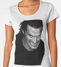 Camiseta premium de cuello ancho Faith No More, Sr. Bungle, Mike Patton