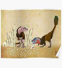 Lesser Bowertyrant (Gorgosaurus libratus) Poster