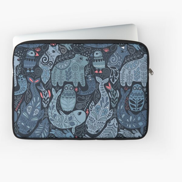 Arctic animals Laptop Sleeve