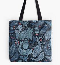 Arctic animals Tote Bag