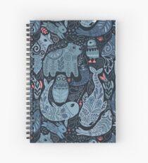 Arctic animals Spiral Notebook