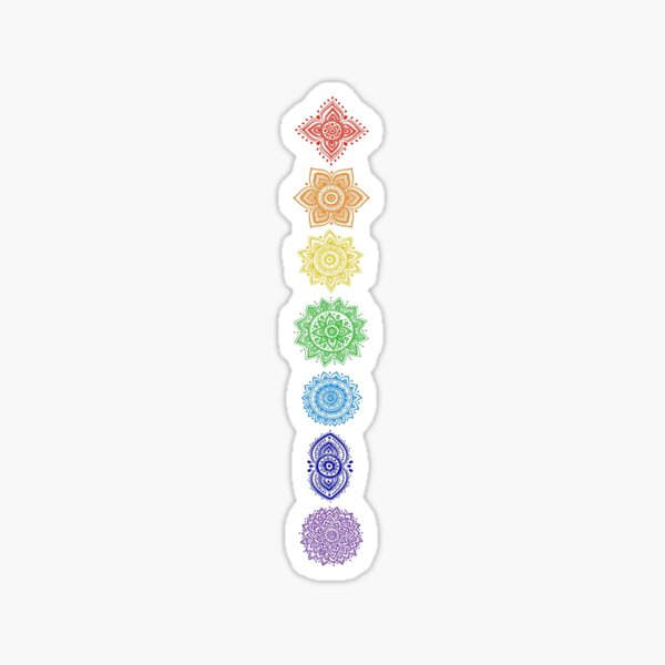 chakras Sticker