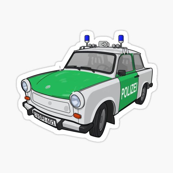 Sticker Volkspolizei für PKW
