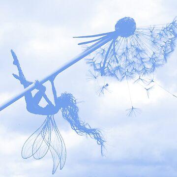 Blue Breeze Fairy by CreativeEm