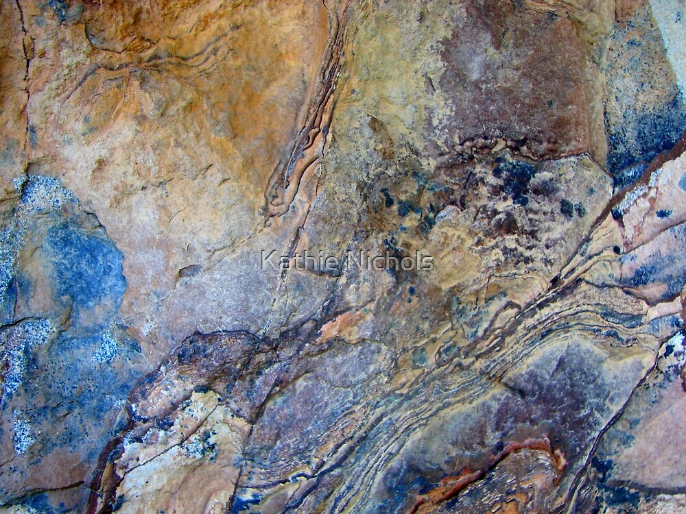 Rock Art III by Kathie Nichols