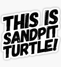 Bring Me The Horizon - Sandpit Turtle Sticker