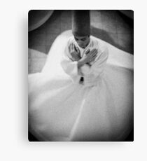 Whirling Dirvish Canvas Print