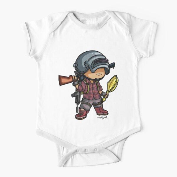 PUBG - Chibi Style Short Sleeve Baby One-Piece