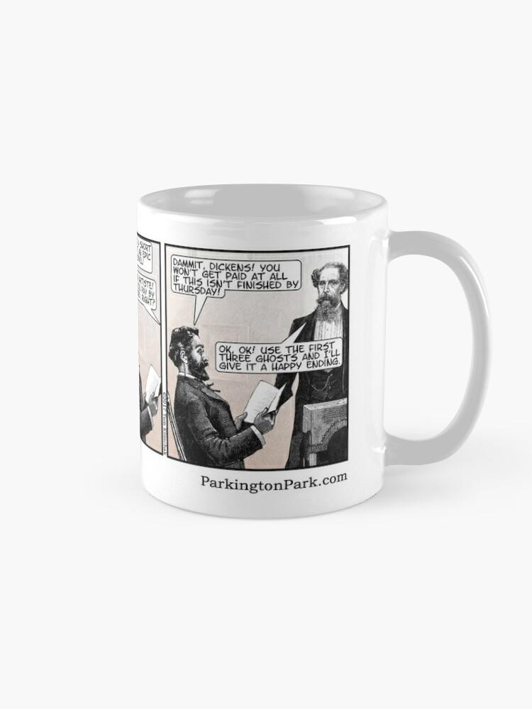 Who Wrote A Christmas Carol.How Charles Dickens Really Wrote A Christmas Carol Mug