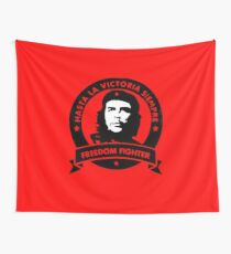 Che Guevara Freedom Fighter Wall Tapestry