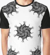 fire star psychedelic geometric art by TrippyNature Graphic T-Shirt