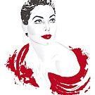 Ava in red by Alejandro Mogollo Díez