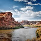 Along a River in Utah by Gregory Ballos