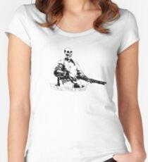 Skull Fiction Marsellus Wallace Women's Fitted Scoop T-Shirt