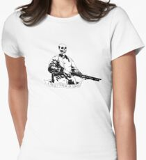 Skull Fiction Marsellus Wallace Women's Fitted T-Shirt