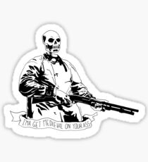 Skull Fiction Marsellus Wallace Sticker
