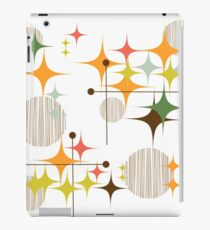 Eames Ära Starbursts und Globen 3 iPad-Hülle & Klebefolie