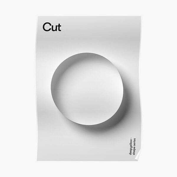 Cut Poster - Deepshape Series  Poster