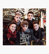 Why Don't We Merry Christmas Photographic Print