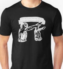 Skull Fiction Honey Bunny Unisex T-Shirt