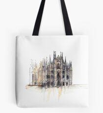 Bolsa de tela Duomo di Milano. Catedral de Milán.