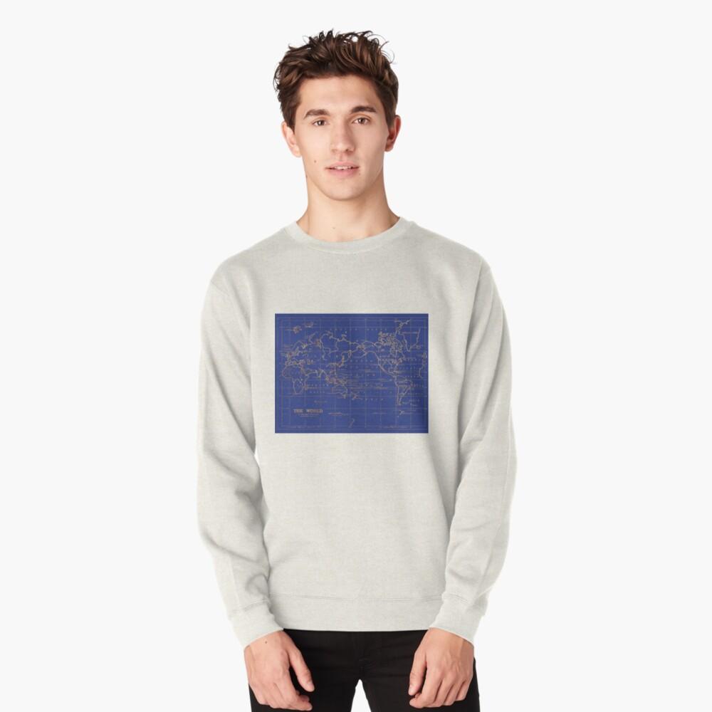Weltkarte Pullover