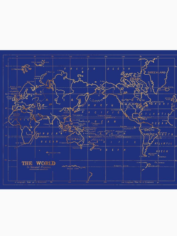 Weltkarte von fernandaschalle